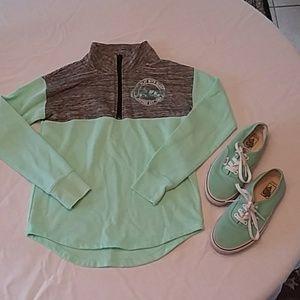 Girls Justice Cheer 1/4 Zip Sweatshirt (S:10)